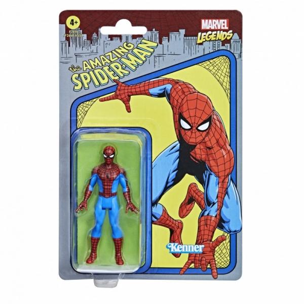 Marvel Fan Legends Figurka Retro Spider-Man (F2648/F2654)