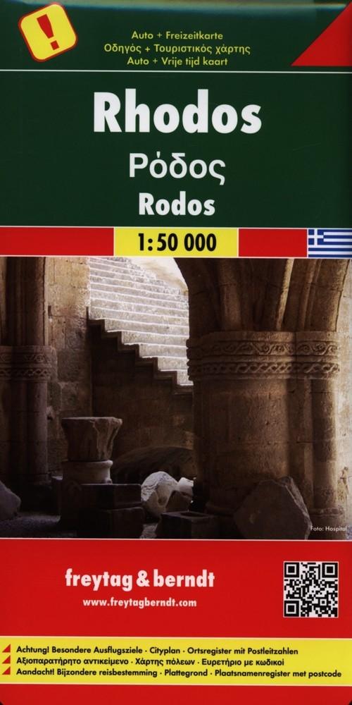 Rodos Mapa 1:50 000