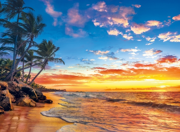 Puzzle High Quality Collection 500: Paradise Beach (35058)