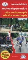 Województwo zachodniopomorskie atlas znakowanych szlaków rowerowych