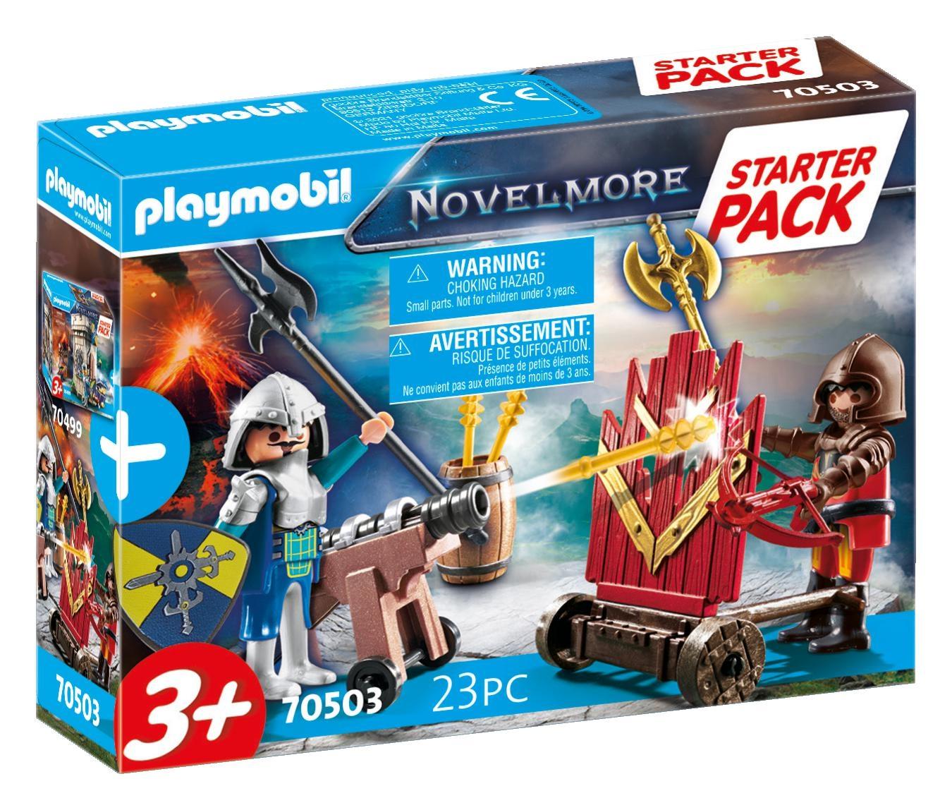 Playmobil Novelmore: Starter Pack Novelmore - zestaw dodatkowy (70503)