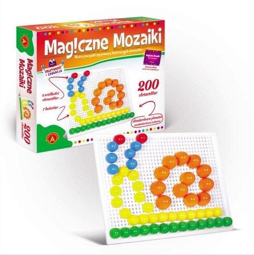 Magiczne mozaiki 200 elementów(0658)