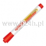 Marker pemanentny czerwony okrągła końcówka RMP-1/B