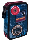 Coolpack - Jumper 2 - Piórnik podwójny z wyposażeniem - Blue (Badges)