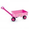Wózek-przyczepa Gigant - różowy (10958)