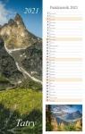 Kalendarz pasek 2021 - Tatry 13