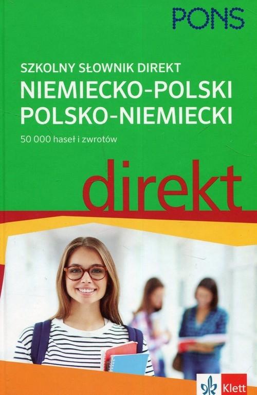 PONS Szkolny słownik niemiecko-polski polsko-niemiecki direkt (Uszkodzona okładka) Czerska Urszula, Heibe Ulrich, Śmidowicz Luiza