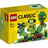 Lego Classic: Zielone klocki kreatywne (11007) Wiek: 4+