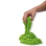 Piasek kinetyczny 1kg w woreczku zielony (KX9568_3)