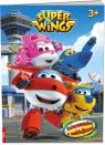 Super Wings Kolorowanka z naklejkami