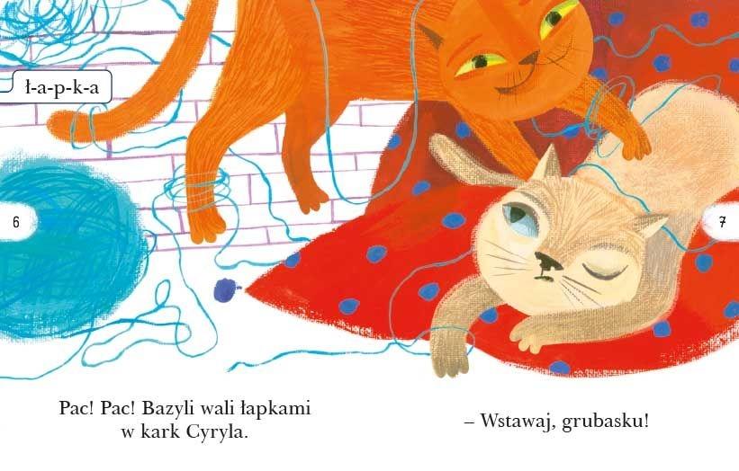 Czytam sobie. Koty i kotki Justyna Bednarek