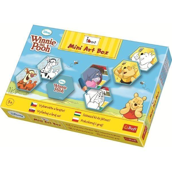 Mini Art Box Pokoloruj i graj Memos Kubuś Puchatek  (20058)