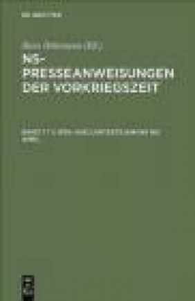NS-Presseanweisungen Bd.7 2 vols