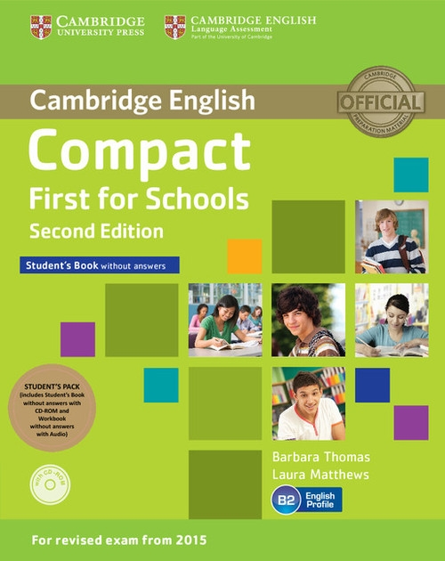 Compact First for Schools Student's Pack Thomas Barbara, Matthews Laura