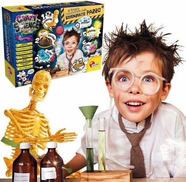 Crazy Science - Laboratorium szalonego naukowca (304-PL68654)