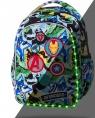 Coolpack - Disney - Joy S - Plecak - LED Avengers Badges (B47308)