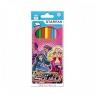 Kredki ołówkowe 12 kolorów Barbie Tajne Agentki
