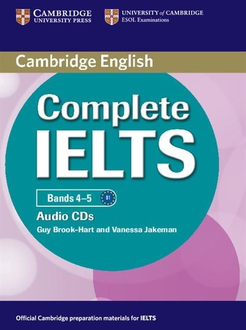 Complete IELTS Bands 4-5 Class Audio 2CD Guy Brook-Hart , Vanessa Jakem