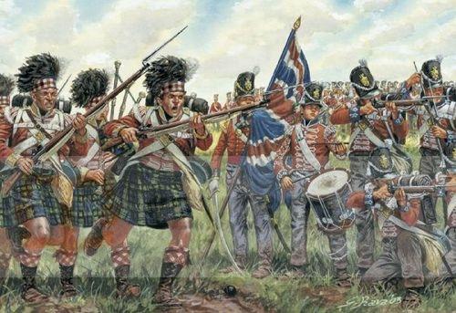 ITALERI British & Scots Infantry (6058)