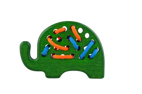 Przeszywanka Słoń Zielony