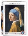 Puzzle 1000 Dziewczyna z perłą, Jan Vermeer