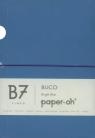 Notatnik B7 Paper-oh Buco Bright Blue w linie