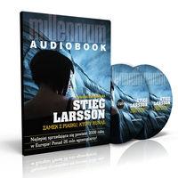 Zamek z piasku, który runął  (Audiobook) Larsson Stieg