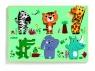 Puzzle drewniane Dżungla Coucou - croco (DJ01258)