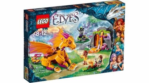 Lego Elves Jaskinia Smoka Ognia (41175)