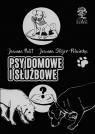 Psy domowe i służbowe wydanie czarno-białe
