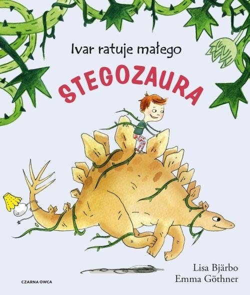 Ivar ratuje małego stegozaura Bjarbo Lisa