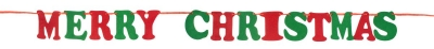 Girlanda świąteczna Godan Merry Christmas 250cm 1 sztuka (NW-GFMC)