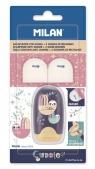 Temperówko-gumka Capsule Cuddles + 2 gumki MILAN
