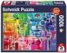 Puzzle Premium Quality 1000: Wszystkie kolory tęczy