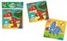 Piankowe puzzle 2w1. Dinozaury