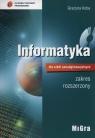 Informatyka dla szkół ponadgimnazjalnych Podręcznik zakres rozszerzony + CD