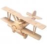 Łamigłówka drewniana Gepetto - Dwupłatowiec (106144) Wike: 6+