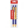 Długopis Stabilo niebieski 2 sztuki E-6030/412
