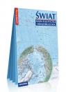 Świat Mapa polityczna i krajobrazowa laminowana mapa w formacie XXL 1:31 000