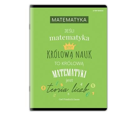Zeszyt Top 2000 A4/60k, kratka - Matematyka (400150787)