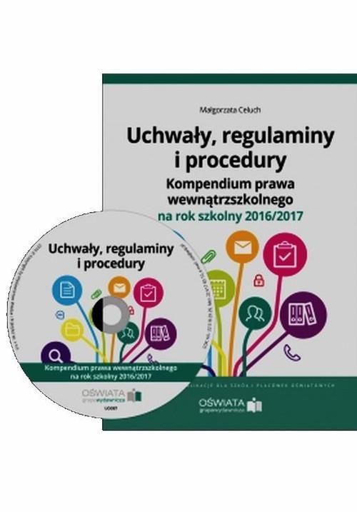 Uchwały regulaminy i procedury + CD Celuch Małgorzata