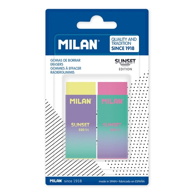 Milan, gumki 320 Sunset - 2 szt. (BPM10452)