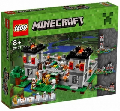 Lego MINECRAFT 21127 Forteca Minecraft