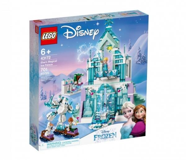 Lego Disney: Magiczny lodowy pałac Elsy (43172)