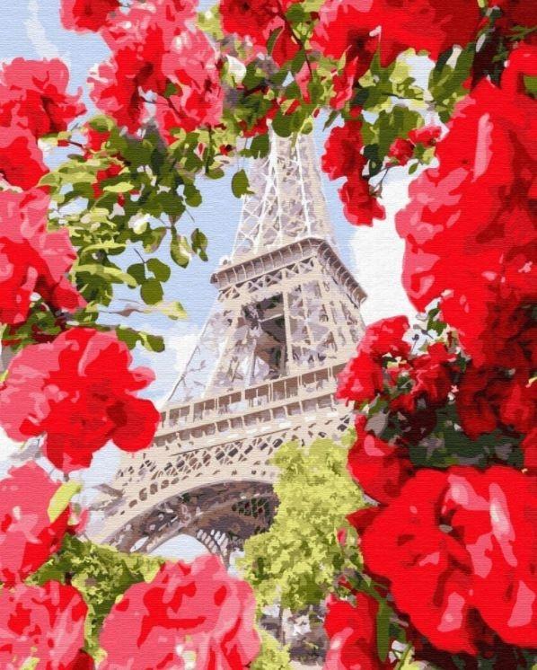 Obraz Malowanie po numerach - Paryż (GX32312)