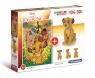 Puzzle 104 + 3D model Król Lew