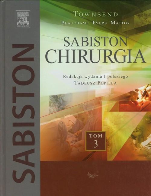 Sabiston Chirurgia Tom 3 Townsend Courtney M.