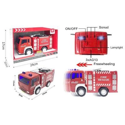Samochód strażacki Icom 20 cm światło i dźwięk (BF122474)