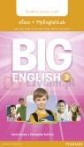 Big English 3 Pupils eText +MyEngLab AccCodeCard Mario Herrera, Christopher Sol Cruz