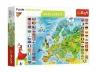 Puzzle edukacyjne 160: Mapa Europy (15558)Wiek: 6+